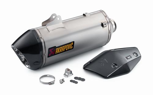 KTM Akrapovic Slip-On Line Exhaust 1090/1290 Adv R/Super Adv R/S/T 2017-2020