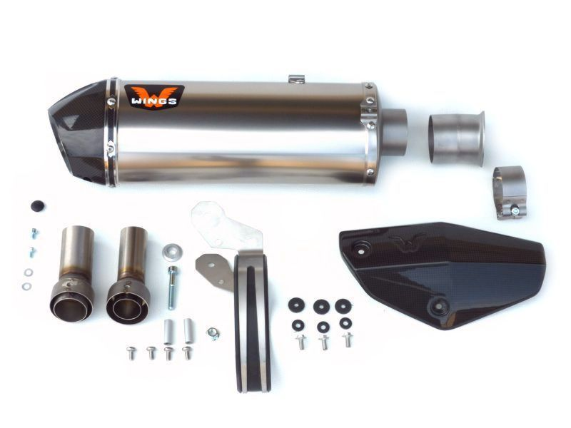 Wings Slip-on Exhaust KTM 1090/1190/1290 Super Adventure R/S/T 2013-2018