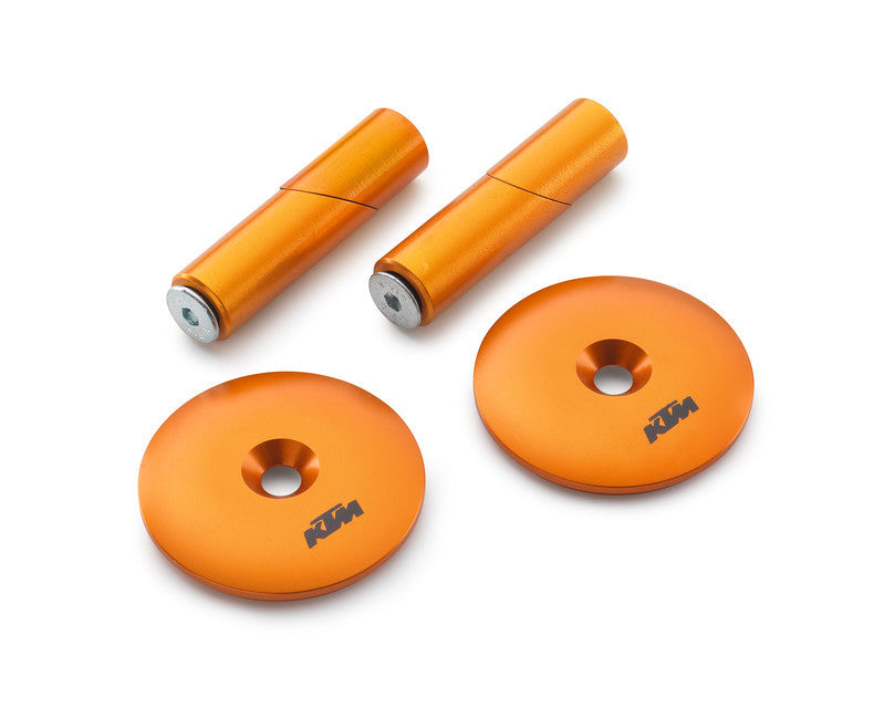 KTM Swingarm Bolt Cover Set KTM 1090/1190/1290 ADV/Super ADV/Super Duke 2013-2017 - KTM Twins