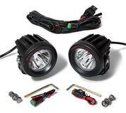 Cyclops Long Range Optimus Led Auxiliary Light Round - KTM Twins