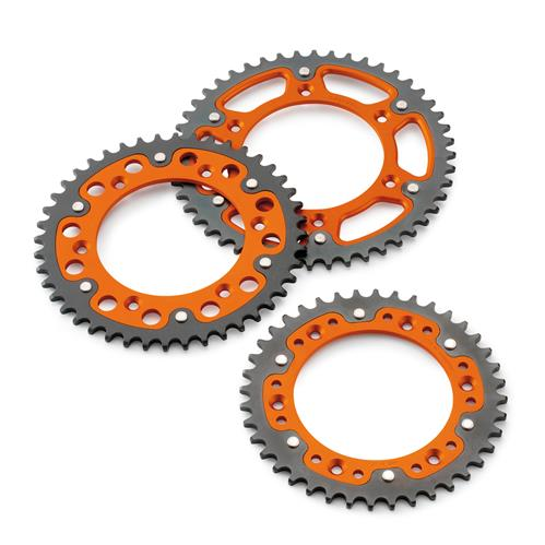 KTM Supersprox Stealth Rear Sprocket (38T-52T) MX/Enduro/Travel/Sport 2000-2021