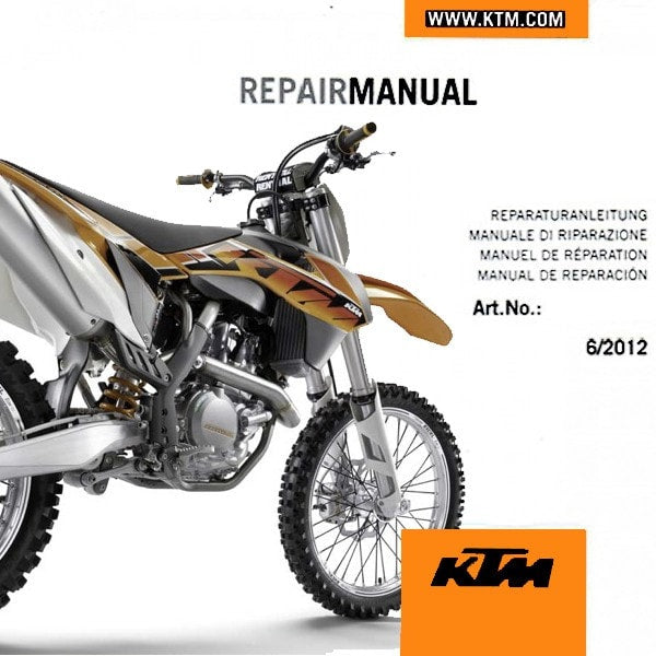 ktm 450 505 sx f service manual 2008 2014 3206184 ktm twins rh ktmtwins com ktm 350 sxf repair manual ktm 350 sxf 2012 workshop manual