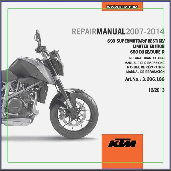 ktm 690 sm smr duke r 2007 2015 service repair manual 3206225 rh ktmtwins com ktm bike owners manual Clymer Motorcycle Repair Manual