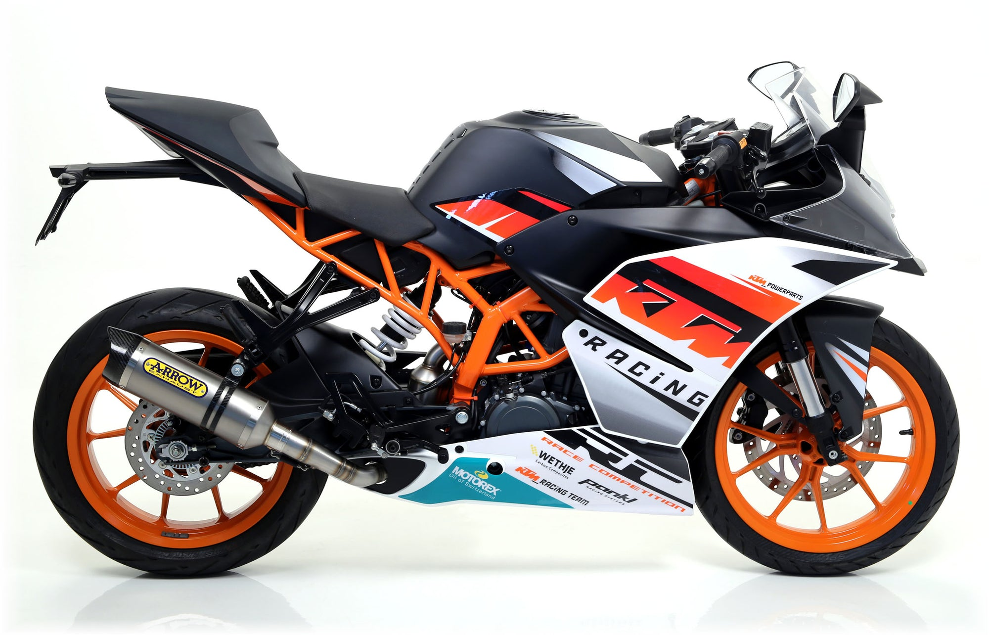 Arrow Street Thunder Slip-On KTM RC 390 2015-2016