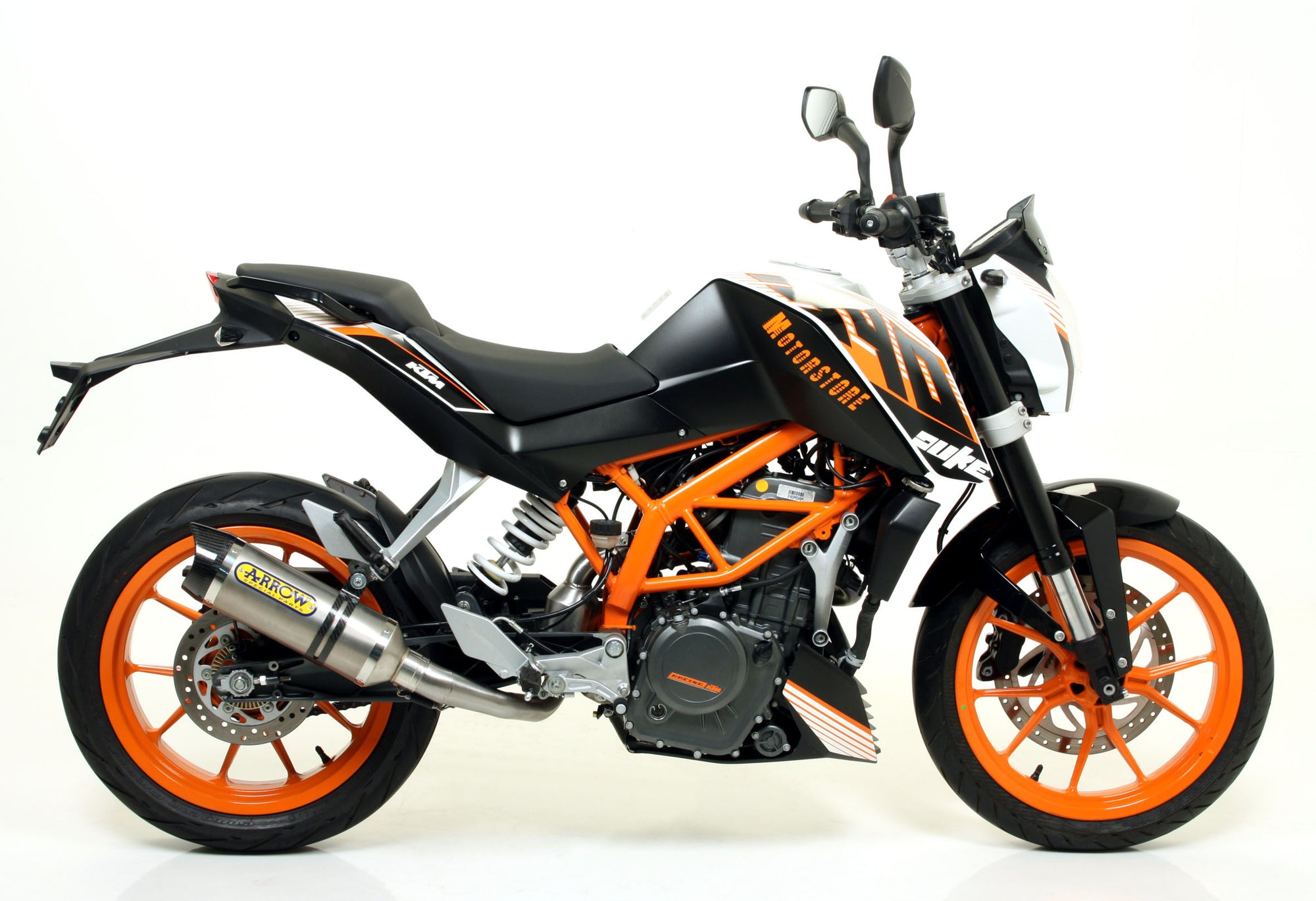 Arrow Street Thunder Slip-On KTM 390 Duke 2013-2016
