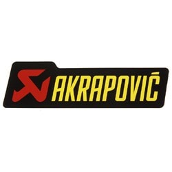 Akrapovic Exhaust Sticker - KTM Twins