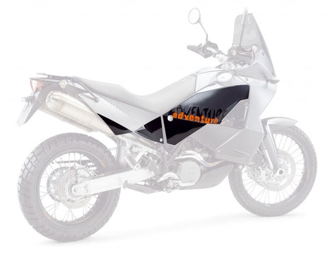KTM Adventure Transparent Tank Protection Sticker Set 60012072000