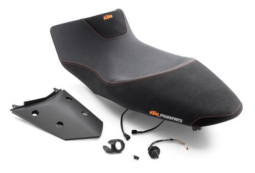 KTM Ergo Passenger Heated Seat with Switch 1290 Super Adv R/S 2017-2019