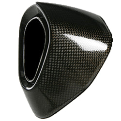Akrapovic EVO System Carbon End Cap - KTM Twins