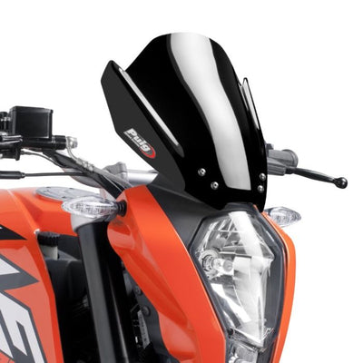 Puig Naked New Generation Sport Windscreen KTM 125/200/390 Duke 2011-2016