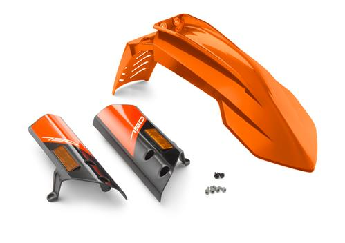 KTM Fender Kit (Orange/White) 790 Adventure/R 2019-2020