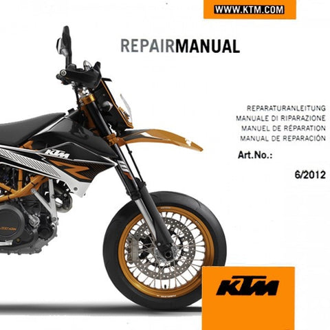 KTM 690 Enduro/SMC Repair DVD 2008-2016 - KTM Twins