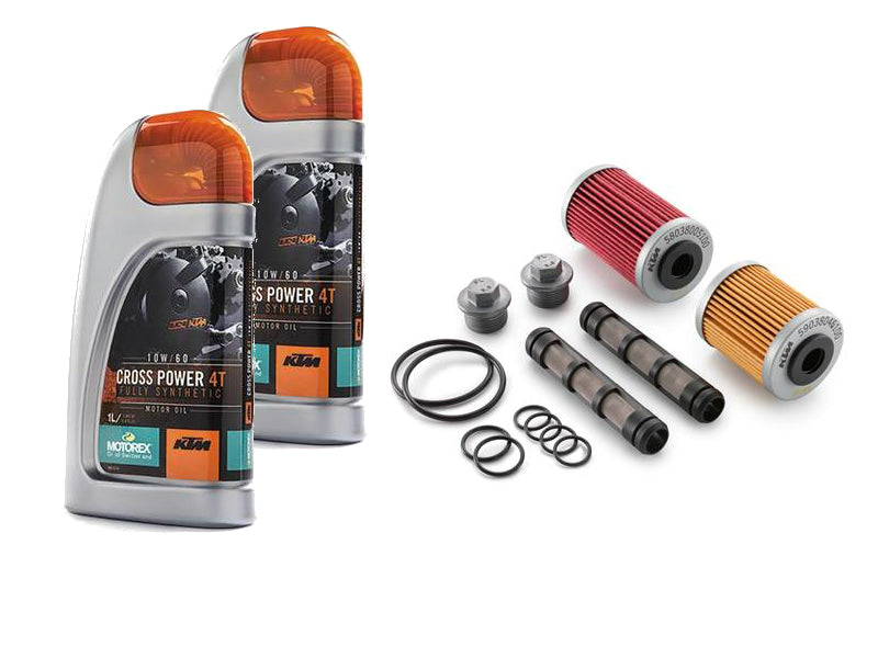 KTM Complete Oil Change Kit 690 Duke/Enduro/SMC 2012-2019