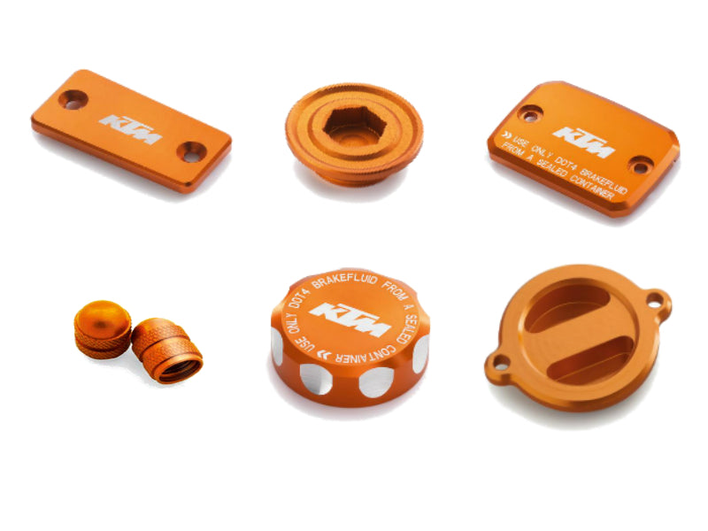 KTM Orange CNC Bling Kit 690 Duke/Enduro/SMC R 2014-2019