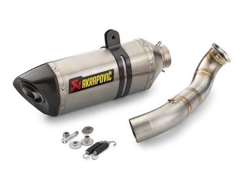 KTM Akrapovic Complete Slip On Exhaust System 690 Duke 2013-2019