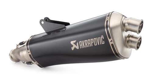 "KTM Akrapovič ""Slip-on line"" Exhaust 690 SMC R 2019"
