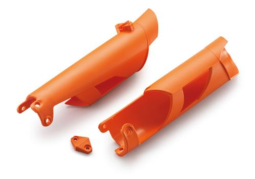 KTM Fork Protector Kit (Orange/Black/White) MX/690 Enduro/R 2005-2018