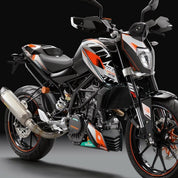"KTM ""Factory"" Graphics Kit KTM 390 Duke 2014-2016 - KTM Twins"