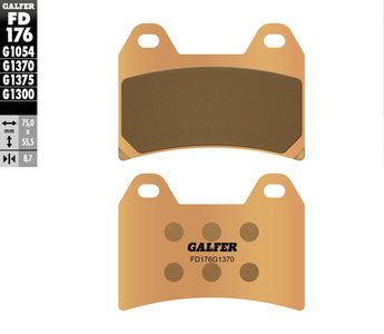 Galfer FD176 Front Brake Pads KTM Super Adventure/SMC/Duke/Supermoto 1999-2019