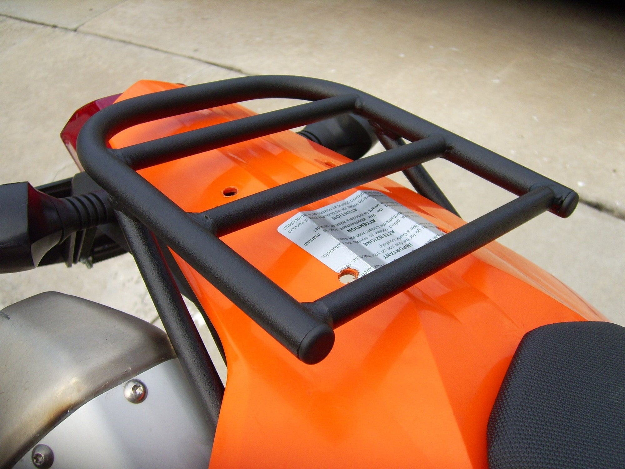 Nomadic Luggage Rack KTM Models 2008-2011 - KTM Twins