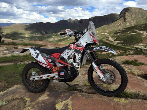 mst rally 690 enduro sei-90 evo2 adventure rally kit – ktm twins