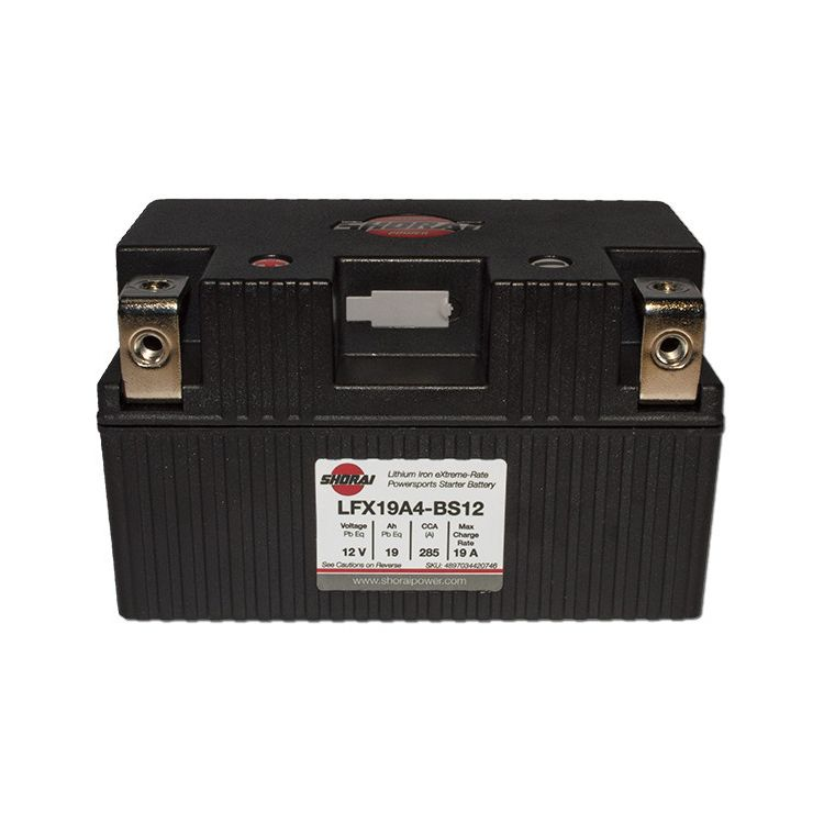 Shorai Duration Lithium Battery LFX19A4-BS12 KTM Travel/Sport 1996-2019