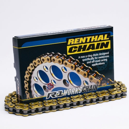 Renthal R1 520 Non O-ring Chain 120 Link