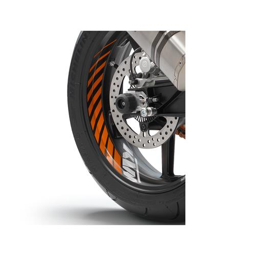 KTM Wheel Trim Ring Sticker Kit RC8/R/Duke/End R/SMC R/SD/R/SM/R/T 2006-2019