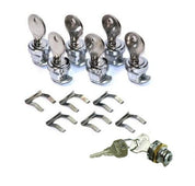 KTM Black Aluminum Side Bag Lock Kit 60112923050