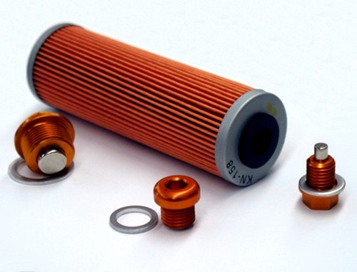 ZipTy Racing KTM LC8 Magnetic Engine Plug Kit with Oil FIlter