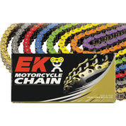 EK MVXZ2 Solid Color 520 X-Ring Chains