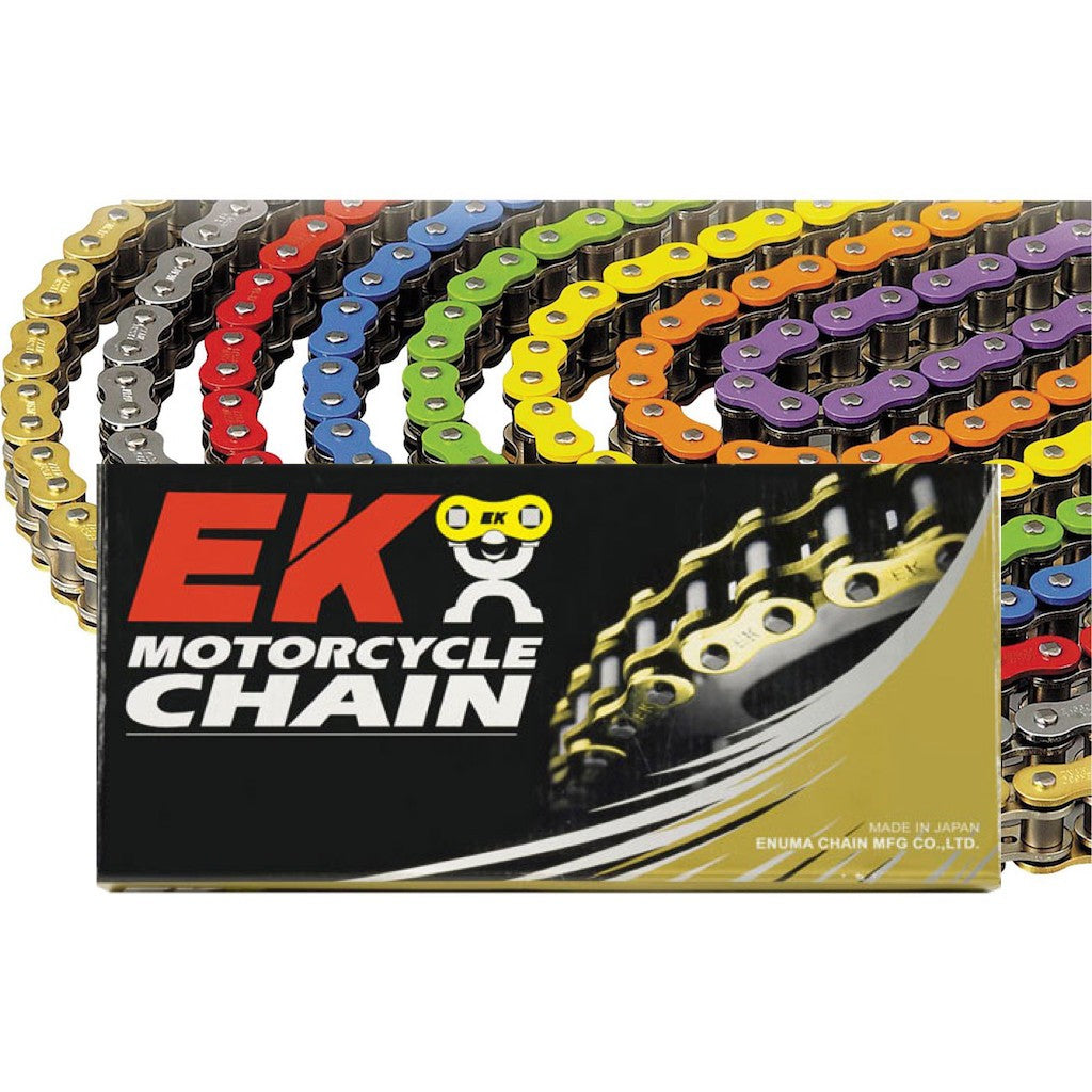 EK 520 MVXZ2 X-Ring Solid Color Chains 120 Links