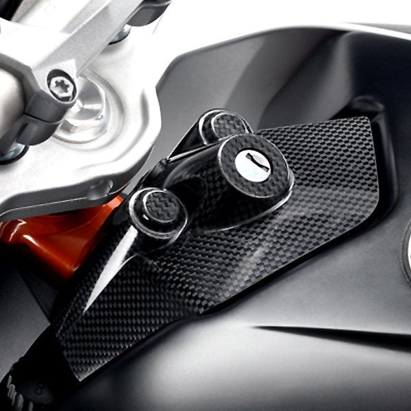 KTM Carbon Ignition Lock Cover KTM 690 Duke 2013-2017 - KTM Twins
