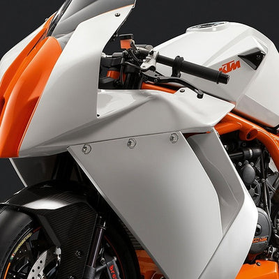Brilliant Whte & KTM Orange