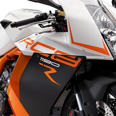KTM Brilliant Black, KTM Orange & Brilliant White