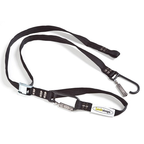 Lockstrap Combination Lock Carabiner Locking Tie Down - KTM Twins