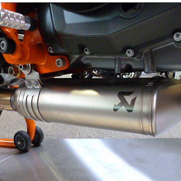 Akrapovic Stainless Steel Exhaust Header KTM 690 Duke 2012-2016 - KTM Twins