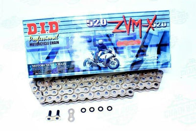 DID 520 ZVMX X-Ring Chain (120 Links)
