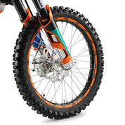 KTM Wheel Trim Ring Sticker Kit KTM MX/Enduro/Adventure/SE 2002-2017 - KTM Twins