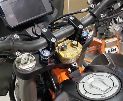 Scotts Complete Rubber Sub Mount Damper Kit KTM 790 Adventure/R 2019