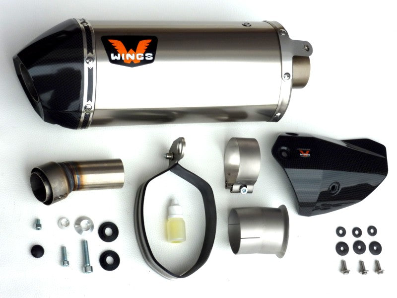 Wings Slip-on Exhaust KTM 1290 SuperDuke R 2016-2018
