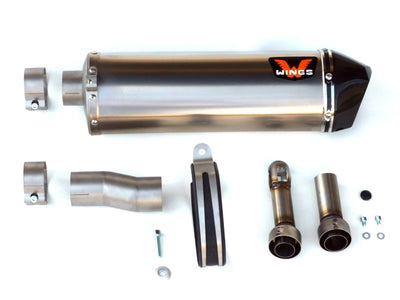 Wings Slip-on Exhaust KTM 690 Enduro/SMC