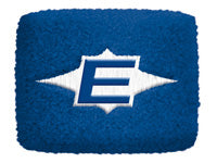 Blue easton sweat band