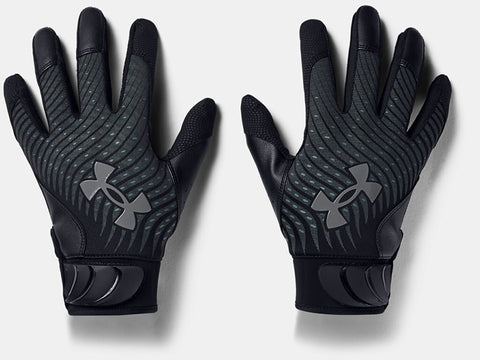 Under Armour Harper Hustle Batting Gloves Black '21