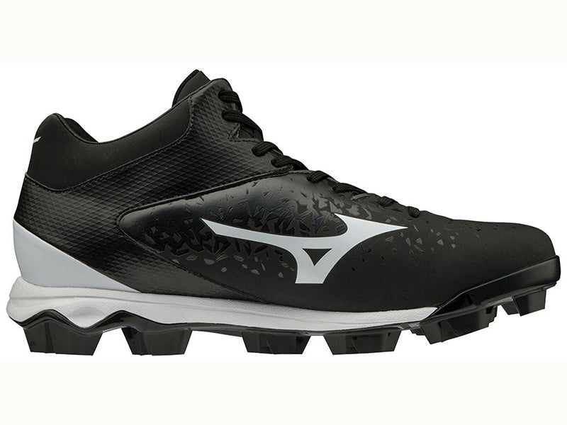 Mizuno Men's Wave Select Nine TPU Mid Molded Cleat (320585)