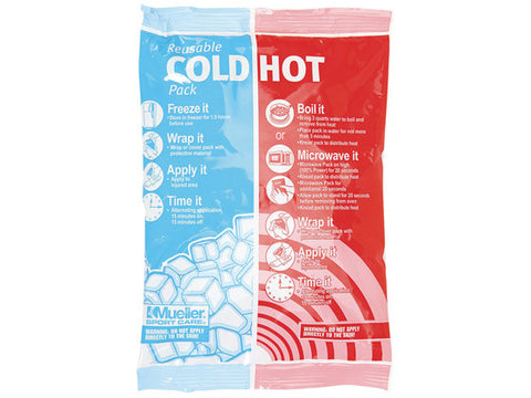 "Mueller Reusable Cold/Hot Packs (6"" x 9"")"