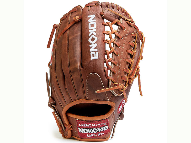"Nokona Walnut W-1275 12.75"" Outfield Baseball Glove"