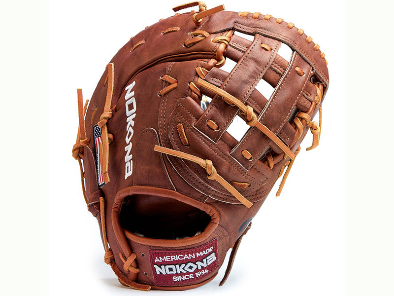 "Nokona Walnut W-N70 13"" First Base Mitt"