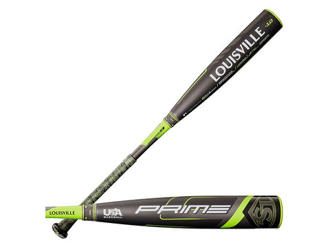 "Louisville PRIME 9 -10 (2 5/8"") USA Baseball Bat '20"