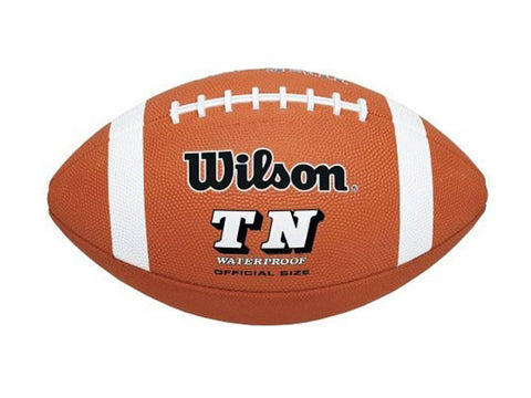 Wilson TN Rubber Official Size Football